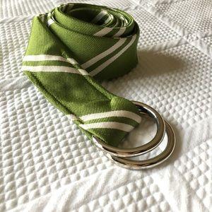JCrew silk belt
